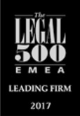 Legal 500 2017 firm